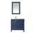 Vinnova Bathroom Vanity 36'' Display View Blue