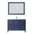 Vinnova Bathroom Vanity 48'' Display View Blue