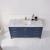Vinnova Bathroom Vanity 60'' Lifestyle View Top Blue