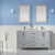 Vinnova Bathroom Vanity 60'' Lifestyle View Front Grey