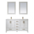 Vinnova Bathroom Vanity 60'' Display View White