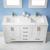 Vinnova Bathroom Vanity 60'' Lifestyle View Top White