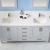 Vinnova Bathroom Vanity 72'' Lifestyle View Front Grey