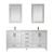 Vinnova Bathroom Vanity 72'' Display View White