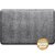 """WellnessMats Croc Collection 3' x 2' Anti-Fatigue Floor Mat in Slate with Burnished Nickel on Gray Base, 36"""" W x 24"""" D x 3/4"""" Thick"""