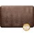 """WellnessMats Croc Collection 3' x 2' Anti-Fatigue Floor Mat in Antique Light with Tan Base, 36"""" W x 24"""" D x 3/4"""" Thick"""