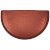 """WellnessMats Studio Semi Sunburst Collection 36"""" x 22"""" Anti-Fatigue Floor Mat in Sunset with Red on Tan Base, 36"""" W x 22"""" D x 3/4"""" Thick"""