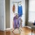 Household Essentials 2-Tier Tripod Floor Standing Dryer - Tan and White