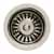 Whitehaus Waste Disposer Trim, Polished Nickel