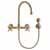 Gooseneck - Antique Bronze - Cross Handles