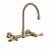Gooseneck - Antique Bronze - Lever Handles