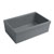 Beveled Sink in Matte Cement Display View 3