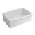 Beveled Sink in Matte White Display View 3
