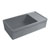 2-1/2'' Lip Sink in Matte Cement Display View 2