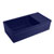 Whitehaus Blue Fireclay Sink w/ Integral Drain Board
