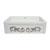 Embossed Vine Sink in White/ Platinum Display View 2