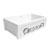 Embossed Vine Sink in White/ Platinum Display View 4