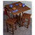 Winsome Wood Square Spacesaver 3-Pc. Set, Includes Drop Leaf Table & 2 Stools