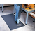 Full Roll Endurable Beveled Black Mat